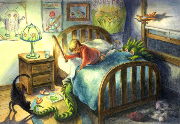 Monster Under the Bed Art